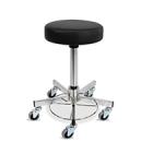 Operationsstol med hjul, gasfjädring och dyna
