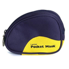 Laerdal Medical Laerdal Pocketmask i blå mjukväska ventil/filter